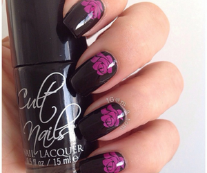 lacquer, nails, and uñas image