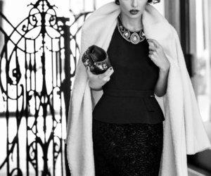 fashion, woman, and dress image