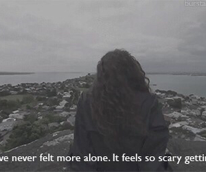 lorde, alone, and feelings image