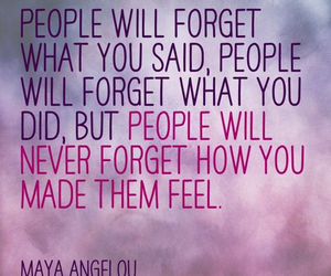 maya angelou, quote, and wise image