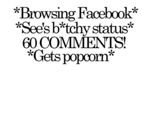 text, facebook, and comments image