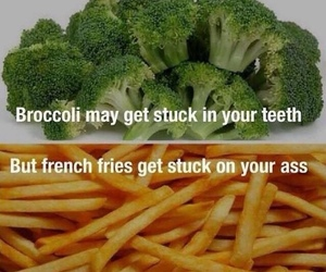fit, broccoli, and food image
