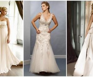 fashion, weddingdress, and white image