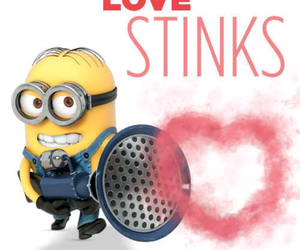 heart, minion, and love image