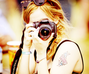 emma watson, harry potter, and camera image