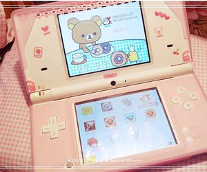nintendo, pink, and ds image
