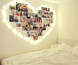 heart, bedroom, and Dream image