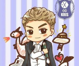 exo, fanart, and kris image