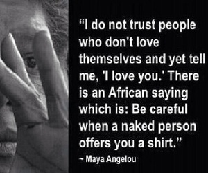 I Love You, maya angelou, and quotes image