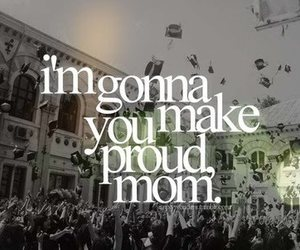 mom, proud, and love image