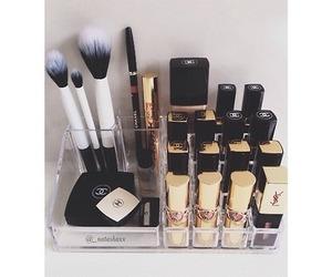chanel, cosmetics, and make up image
