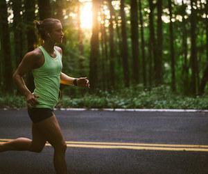 run, fitness, and running image