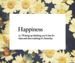 happiness, flowers, and quotes image