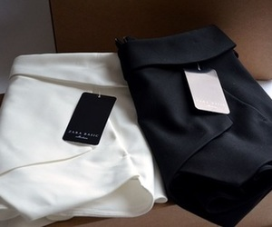 fashion, Zara, and black image