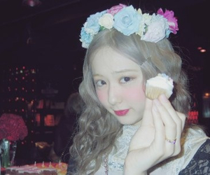 amo, flower, and girl image