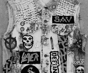 punk, black and white, and misfits image