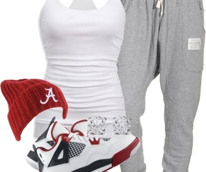 outfit, clothes, and jordan image