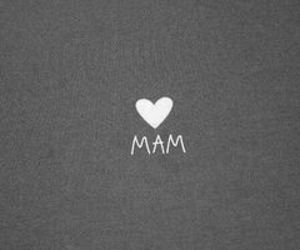 mam, love, and black and white image