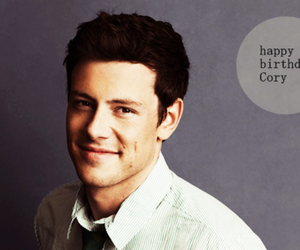 glee, happy birthday, and cory monteith image