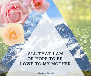 mom, mothers, and mothers day image