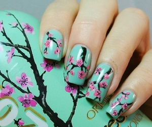 nails, arizona, and flowers image