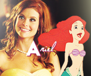 ariel, disney, and once upon a time image