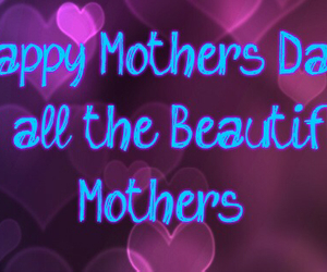 mom and happy mother's day image