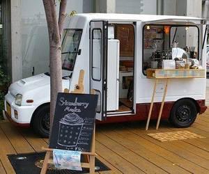 cafe, car, and vehicle image