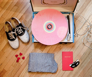pink, shoes, and vintage image