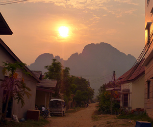 landscape, Laos, and wonderful image