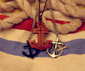 anchors, nautical, and jewelry image