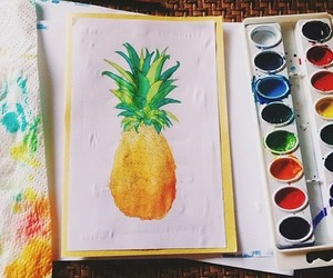 art, summer, and drawing image