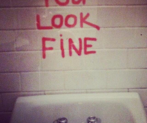 fine, mirror, and look image