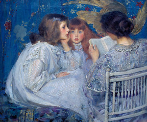 art, girl, and James Jebusa Shannon image