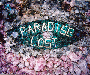 paradise, lost, and rock image