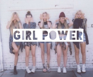girl, girl power, and power image