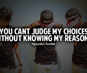 can't judge and without reasons image