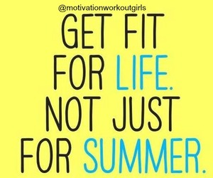 life, summer, and fitness image
