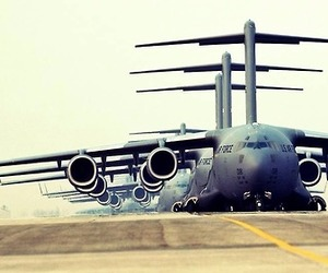 air force, fly, and military image