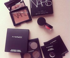 mac, nars, and make up image
