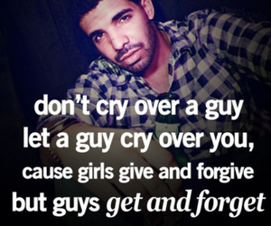quotes, Drake, and cry image