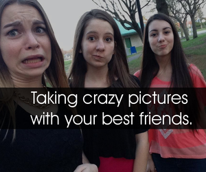 best friends, fun, and pictures image