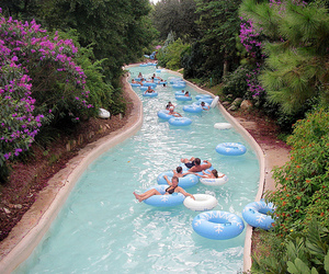 Lazy, river, and water park image