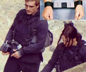 Jennifer Lawrence, josh hutcherson, and katniss image
