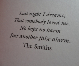 love, quotes, and the smiths image