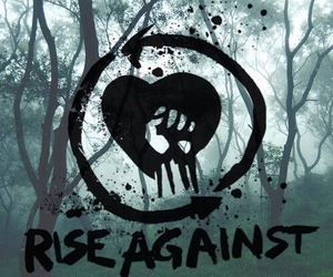 rise against, band, and music image