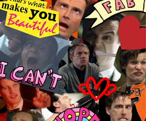 actors, Collage, and david tennant image