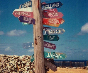 countries, travel, and vintage image