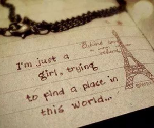 paris, quote, and world image