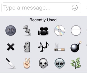 grunge and emojis image